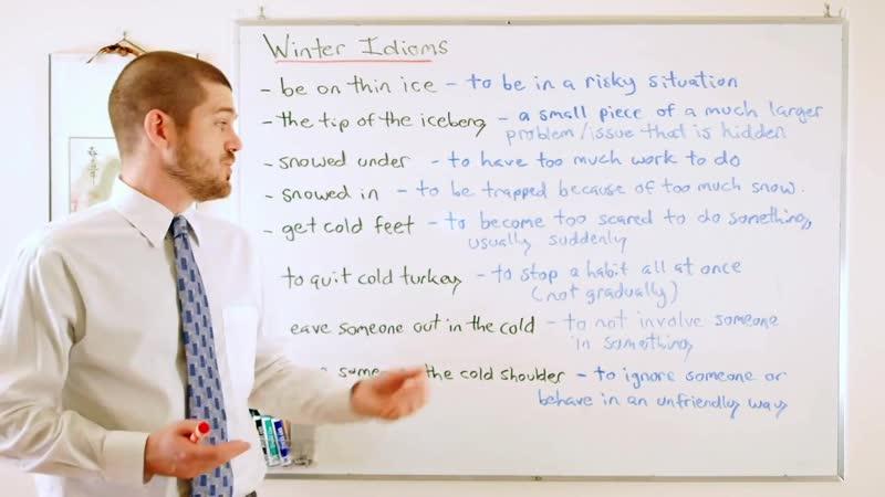 Idiom Series - Winter Idioms