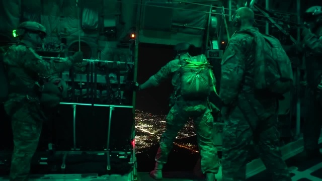 Air Force Special Operations Night Jump – Static HALO Jumps Out Of C-130H(UNAVERAGE GANG - WELCOME TO HELL Viljam Raugalas)