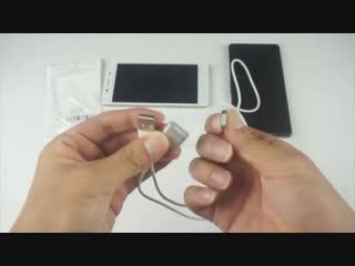 Магнитный кабель USB- micro USB