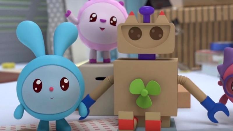 Малышарики - Изобретатели - серия 132 - Обучающие мультфильмы для малышей - части тела