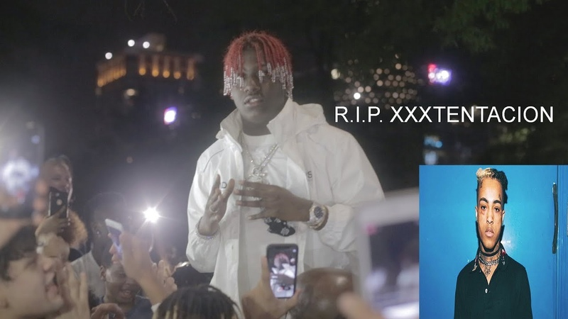 Full XXXTentacion Memorial In Atlanta GA. LIL YACHTY Comes To Give A Speech To The Youth