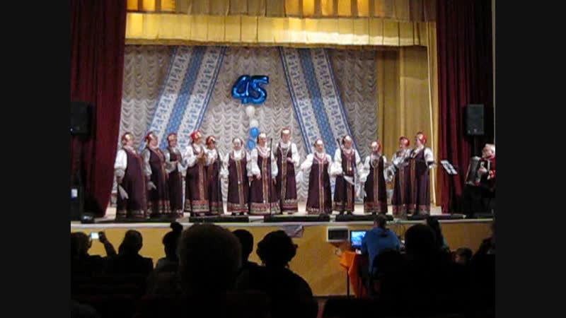 «Вишня белоснежная цветет» Народный коллектив хор Подмосковье