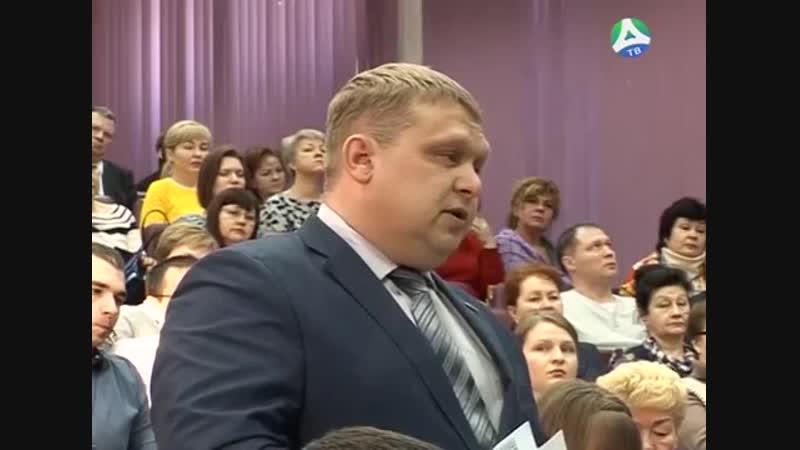 Татьяна Мерзлякова и Михаил Богинский встретились с трудящимися ОАО Ураласбест