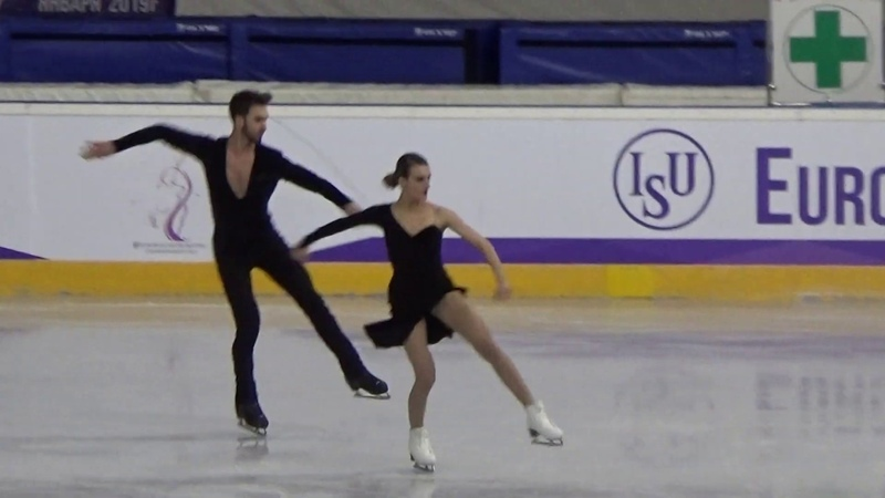 European Figure Skating Championships 2019 Minsk - First video in Minsk-Arena - January 22 Live