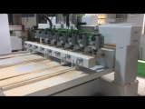 3D 8 heads Cnc Router Machine