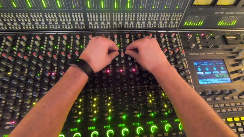 Analog Mixing (SSL Console) GoPro POV - Get Out Of Bed by Magician's Nephew