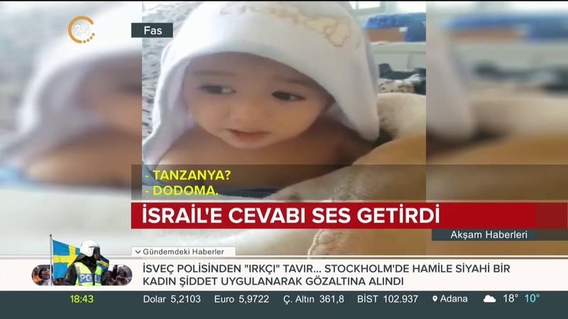 18 aylık Faslı bebek dünya başkentlerini ezbere saydı sıra İsrail'e gelince bekın ne dedi