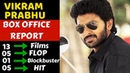 Vikram Prabhu Career Box Office Collection Analysis Hit, Blockbuster and Flop Movies List