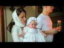 Клип с крещения Анастасии. Храм Воскресения Словущего в Даниловской слободе