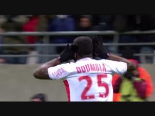 Гол ⚽ Муссы Думбия в матче «Реймс» - «Страсбур» 2:1