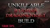UNKILLABLE STAMINA DK BUILD - TANKDPS BUILD ESO WRATHSTONE DragooX