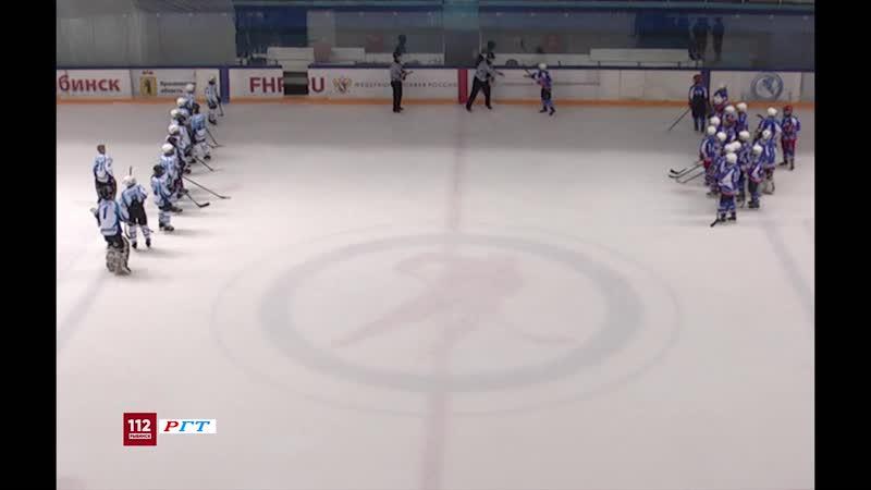Хоккей Забитые шайбы Полёт г Рыбинск Полярные волки г Североморск