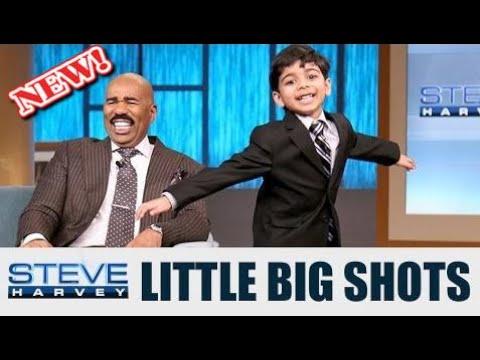(◑◡◑) шоу Мал. большие выстрелы - Акаш Вукоти 6 лет - Little Big Shots: I love this kid! || STEVE HARVEY