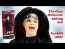 The Ozzy Osbourne talking doll - unboxing