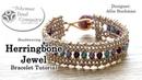Herringbone Jewel Bracelet Tutorial