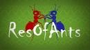 VIDEO x16 Ant wars Муравьиная ферма ResOfAnts Муравьи Night 8