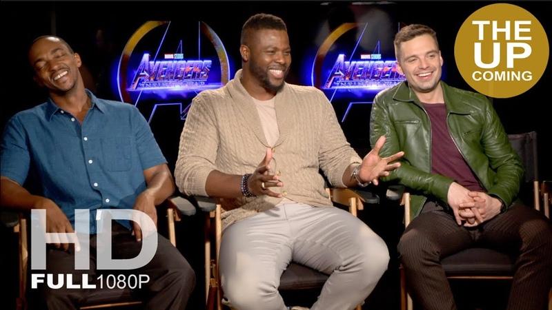 Anthony Mackie, Winston Duke, Sebastian Stan – Avengers Infinity War interview