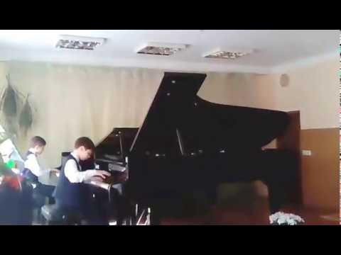 Мордасов. Джаз-вальс. Фортепианный дуэт (ансамбль). Jazz waltz. Piano duet