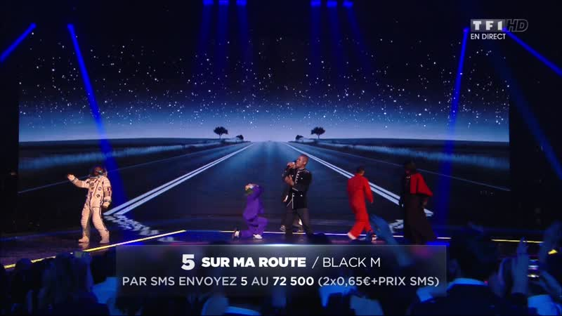 Black M – «Sur ma route» - (Live on 16th NRJ Music Awards 2014)