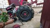 Новое крепление для утяжелителей колёс мотоблока МТЗ 2018 Видео