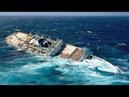 ►Огромный КОРАБЛЬ ТОНЕТ в море на глазах! | Как тонет Большой Корабль | Гибель Больших Кораблей