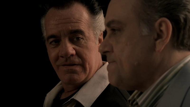 The Sopranos Клан Сопрано Полли делится информацией с Джони Сэком