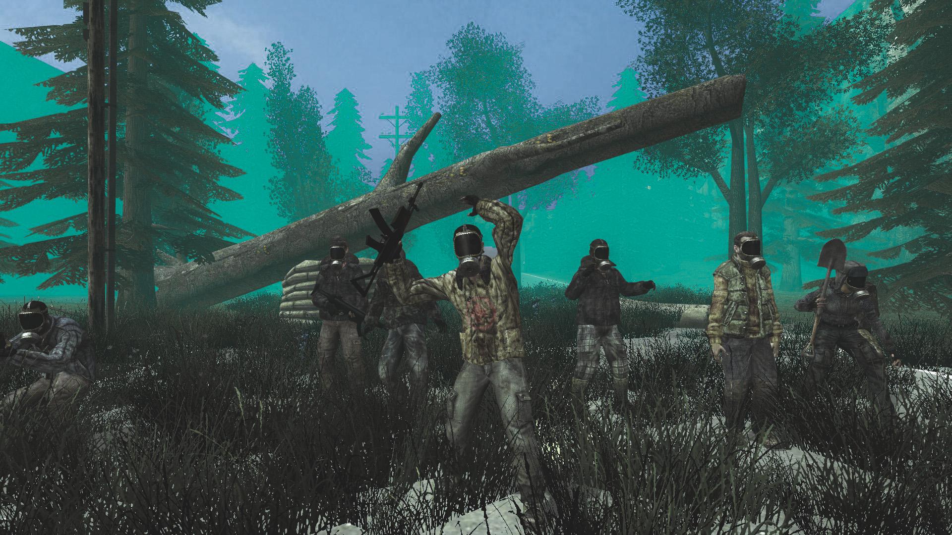 Группа выжившых