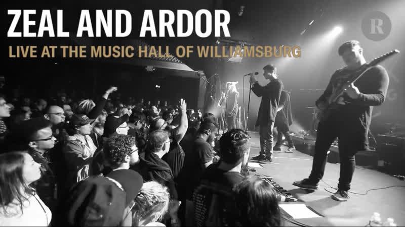 ZEAL AND ARDOR - Live at Music Hall of Williamsburg (Brooklyn, NY 210918)