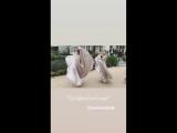 Nicola and Brittany Peltz via Insta Stories - Matts wedding