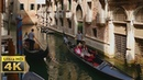 Venice italy romantic gondola ride / AMAZING 4k video ultra hd