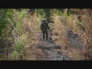 Подготовка инструкторов по разминированию для Народной армии Лаоса в филиале МПЦ ВС РФ
