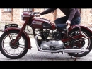 Мотоцикл Triumph Speed Twin 500cc OHV, 1950 года
