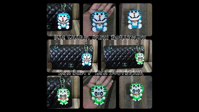 How to Bead Doraemon Type 01(Blue) / Beading Tutorial Part 1/2