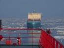 Атомный ледокол 50 лет Победы обеспечил проводку судна контейнеровоза компании Maersk
