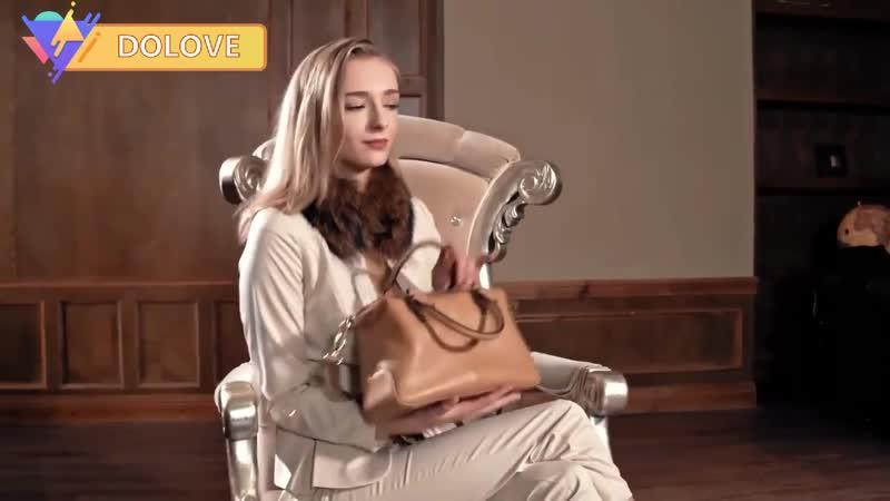DOLOVE изысканная металлическая женская молния из натуральной кожи сумка сумка на одно плечо диагональ