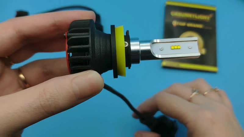 Cnsunnylight LED car headlights H11светодиодные лампы для фар в машину