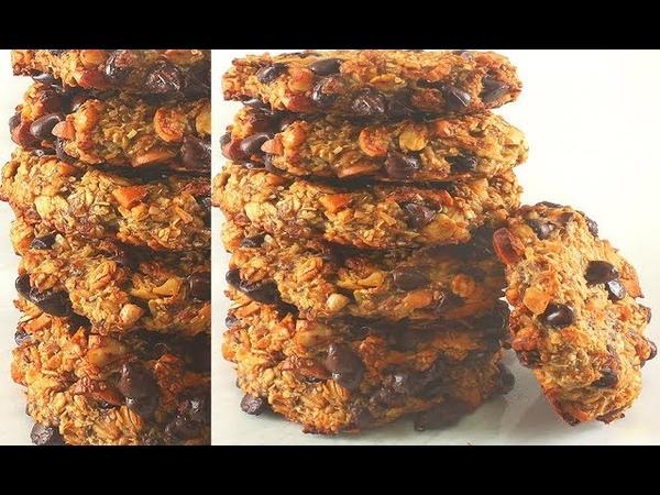 Вкусное Печенье без Муки Здоровые Рецепты Без глютена
