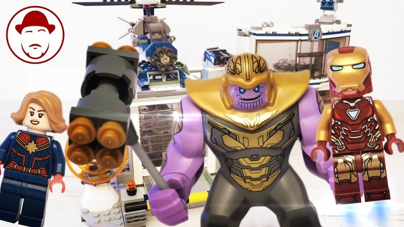 LEGO БАЗА МСТИТЕЛЕЙ [Без Болтовни] | Avengers Compound Battle (76131)| Speed building