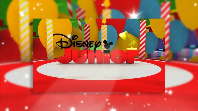 1363-Disney Junior with Happy Birthday Spoof Pixar Lamps Luxo Jr Logo