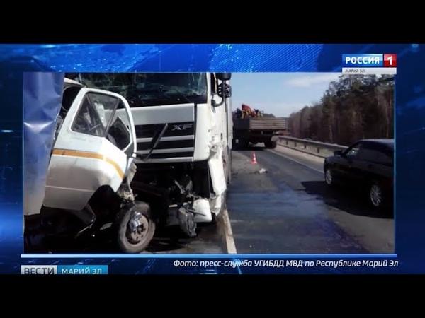 ДТП в Звениговском районе: погиб мужчина