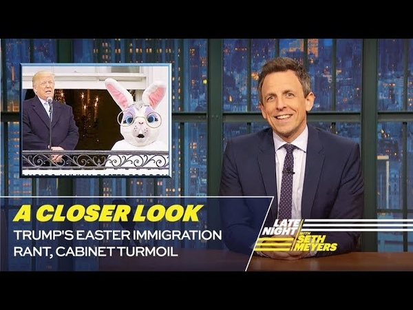 Trump's Easter Immigration Rant, Cabinet Turmoil: A Closer Look