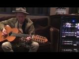 keith richards playing 10 strings guitar