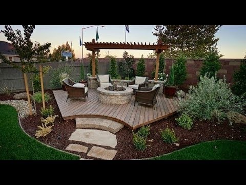 🔴 Landscaping design 50 ideas for the garden, backyard, patio! Part 2