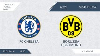 20.01.2019 Chelsea-Borussia. Nizhny Tagil. Afl.