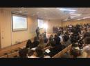 Идёт презентация школы на Окинаве