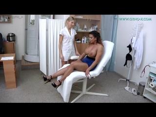 Gyno-X Cloe Mendini [Medical Fetish, Gyno Exam, Anal Checkup, Anal Enema, Big Breast, Masturbation]