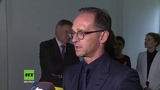 Heiko Maas verurteilt Proteste von Chemnitz beim Besuch der KZ-Gedenkst