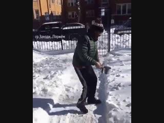 Когда насмотрелся видео про кипяток на морозе... )))