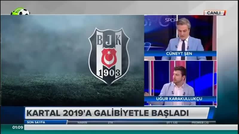Akhisarspor 1-3 Beşiktaş ¦ Uğur Karakullukçudan Burak Yılmaz ve Maç Yorumları