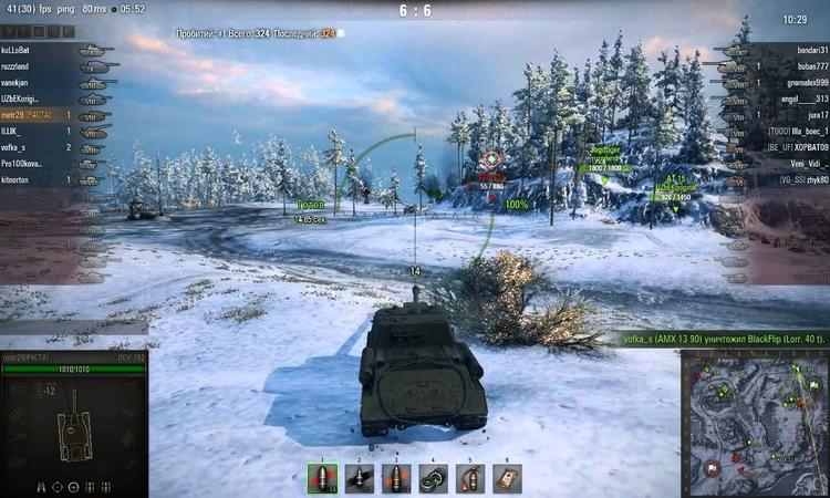 ИСУ-152 вытащил бой практически с дна » Freewka.com - Смотреть онлайн в хорощем качестве
